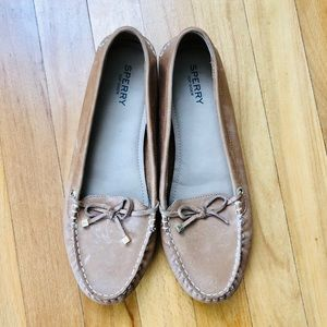 SPERRY Leather Moccasin Driving Shoe Loafers